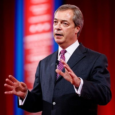 "Nigel Farage is a British politician, founder of the eurosceptic UKIP party and is considered as the face of the Brexit campaign which succeeded in making Great Britain vote for leaving the European Union. Since 1999 Farage is member of the European Parliament, presently as Chair of the ""Europe of Freedom and Direct Democracy Group""."